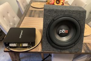 Powerbass subwoofer and amplifier package for Sale in Newhall, CA