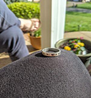 True Love Waits Ring Size 9 for Sale in Harrisonburg, VA