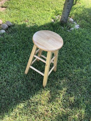 Wooden stool for Sale in Dinuba, CA