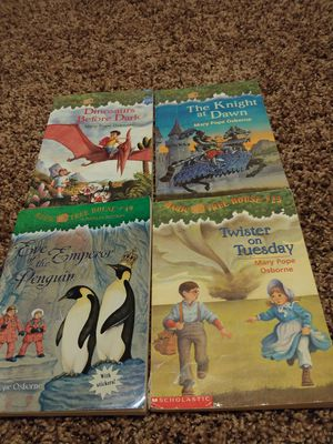 Magic Tree House Books. 1, 2, 23 and 40 for Sale in Houston, TX