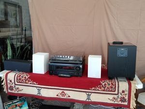 Complete Working Stereo System w/ Turntable for Sale in Poway, CA