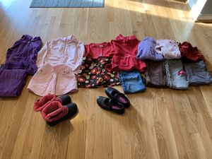 Girls 5-6 fall and winter clothes for Sale in Springfield, VA