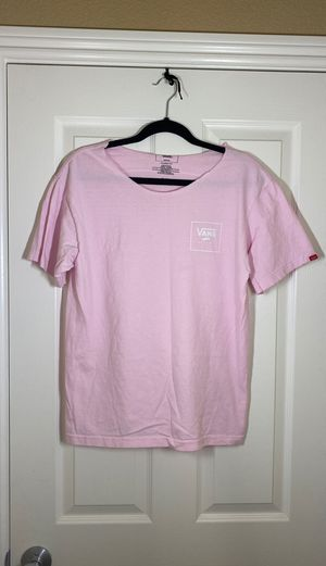 Vans pink T size m for Sale in Sacramento, CA