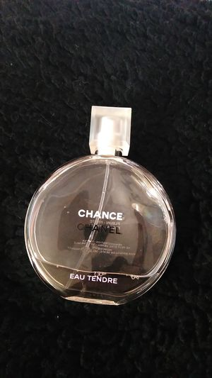 Used Chance Chanel perfume pink bottle for Sale in Moreno Valley, CA