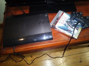 Ps3 consol and 3 Games for Sale in GOODLETTSVLLE, TN