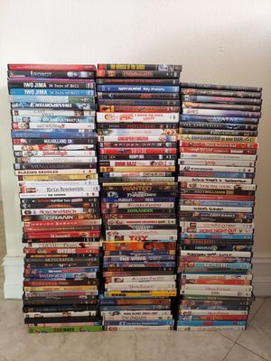 DVD Bundle for Sale in Miami, FL