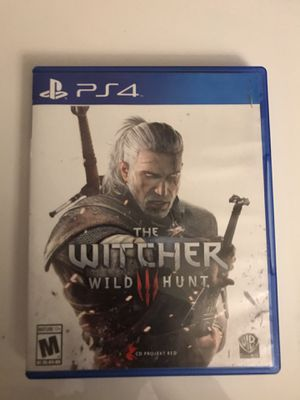 PS4 The Witcher Wild Hunt III for Sale in Miami, FL