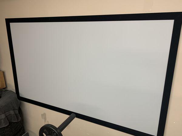 "100"" projector screen"