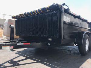Dump Trailer 8x10x2 for Sale in Rialto, CA