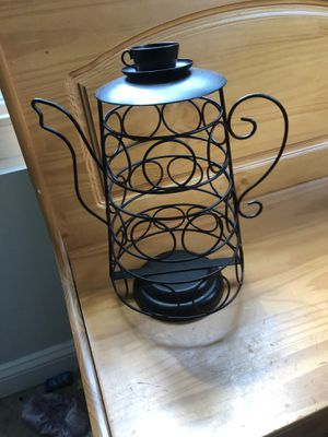 Coffee pot shaped keurig pod holder for Sale in Summerville, SC
