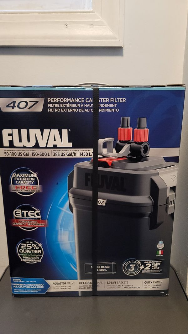 Fluval canister filter aquarium/fishtank