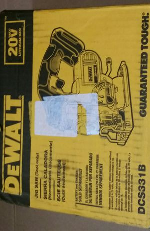New DeWalt DCS331B 20 Volt Jig Saw. TOOL ONLY for Sale in San Jose, CA