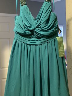 Teal fancy dress, junior size 15, NWT for Sale in Littleton,  CO