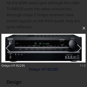 Onkyo HT-R2295 AV- Receiver New In Box for Sale in Longwood, FL