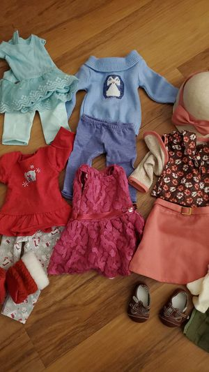 American Girl clothing- over 30 pieces of clothing and accessories! for Sale in Pacifica, CA