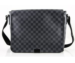 Louis Vuitton Messenger Bag Damier Graphite Black for Sale in Baltimore, MD