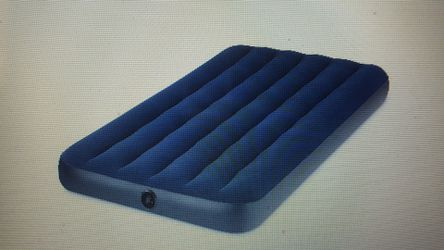 Inflatable air bed mattress with plush top for Sale in Indianapolis,  IN