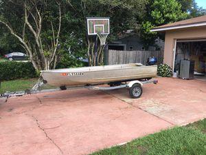 Boat motor and trailer for Sale in Apopka, FL