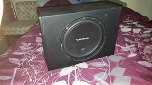 Rockfordfosgate R1 12 with built in amp sounds great!!! for Sale in Gilbert, AZ