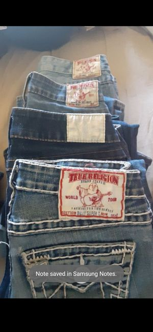 WOMENS TRUE RELIGION & MISS ME JEANS for Sale in Aurora, CO
