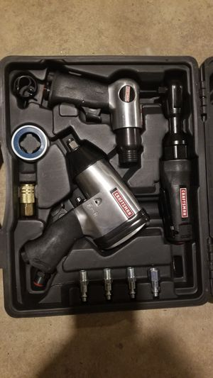 Craftsman 10 Piece Mechanics Air Tool Kit with Impact, Ratchet Air Hammer & Case for Sale in Philadelphia, PA