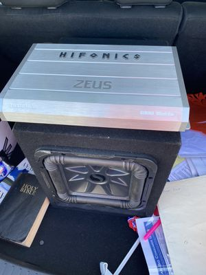 Kicker sound system for Sale in Camp Pendleton North, CA