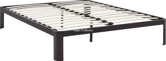 Full Size Platform Bed with Wooden Slats, SKU# MOD5468BRNTC for Sale in Santa Fe Springs,  CA