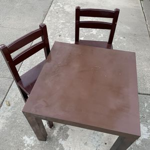 Free Kids Table And Chairs for Sale in San Jose, CA