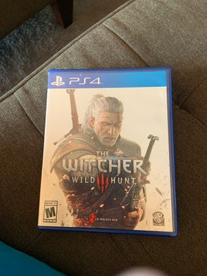 PS4 the Witcher game for Sale in Miami, FL