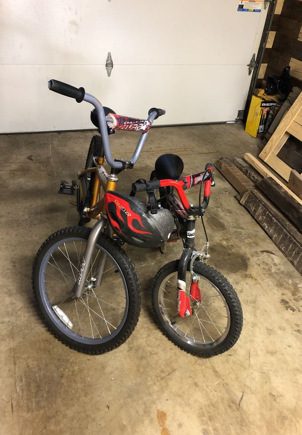 1 little kids and one Older kids bike must go before December 28 2018