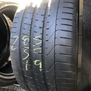 285-30-19 Used Tires 285/30/19 Llantas Usadas for Sale in Fontana, CA