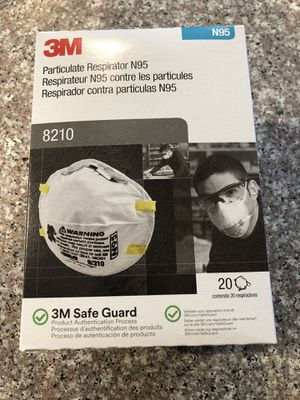 3M N95 respirateur masks for corona (20 - pack) for Sale in Las Vegas, NV