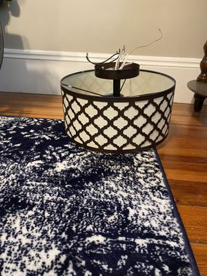Flush mount light fixture for Sale in Newton, MA