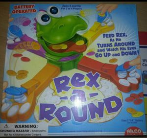 New Rex A Round Kids Game $6!! for Sale in Houston, TX