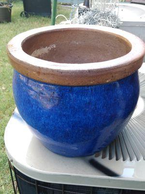 Glazed ceramic flower pots for Sale in Plano, TX