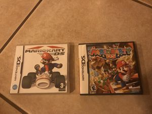 Nintendo DS Mario Kart & Mario Party for Sale in Orting, WA