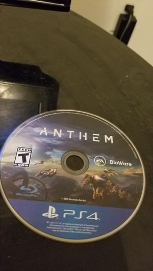 Anthem PS4 for Sale in Orlando, FL