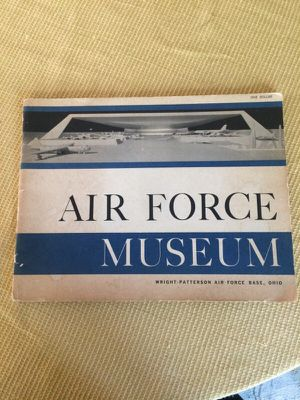 Air Force Museum soft cover aeronautical vintage book.Photos in the list rations of fantastic antique airplanes at the Wright-Patterson Air Force Bas for Sale in West Palm Beach, FL