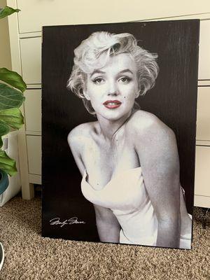 Marilyn Monroe Canvas for Sale in Kennewick, WA