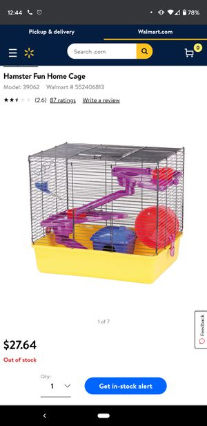 Small animals cage for Sale in Kent, OH