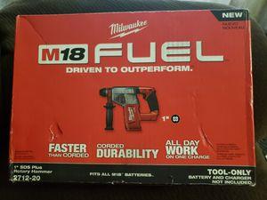 Milwaukee 18v hammer for Sale in Hyattsville, MD