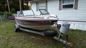 18' Galaxy Boat and Trailer for Sale in Lyons, GA