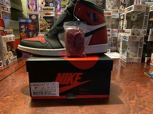 Jordan 1 Bred Toe OG High 9.5 for Sale in Sacramento, CA