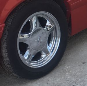 Mustang GT chrome rims for Sale in Maywood, IL