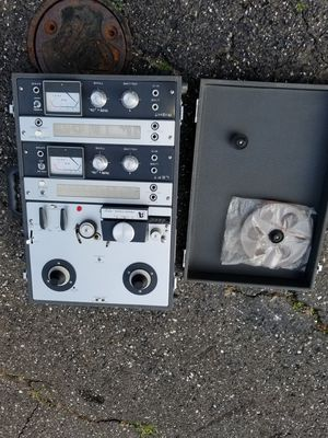 Vintage AKAI M-8 Reel To Reel Cross Field Tape Player collectible antique for Sale in Reston, VA