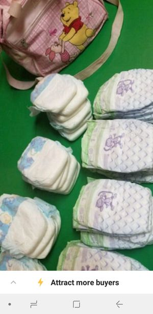 doll diapers and bag for Sale in Kimberly, WI