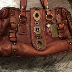 Coach Legacy Lily Cognac Handbag Purse for Sale in Los Angeles, CA