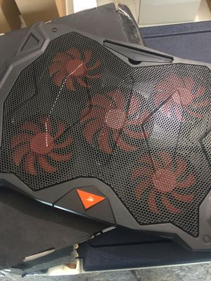 Cooling pad for laptop 5 fans for Sale in Indianapolis, IN