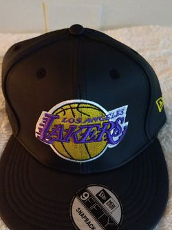 Los Angeles Lakers All Leather Hat for Sale in Waco,  TX