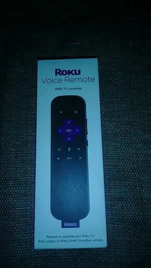 Roku voice remote for Sale in Redford Charter Township, MI